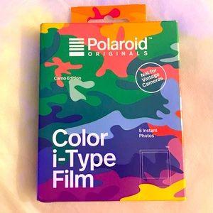 Rare Polaroid Color i-Type Film: Camo Edition